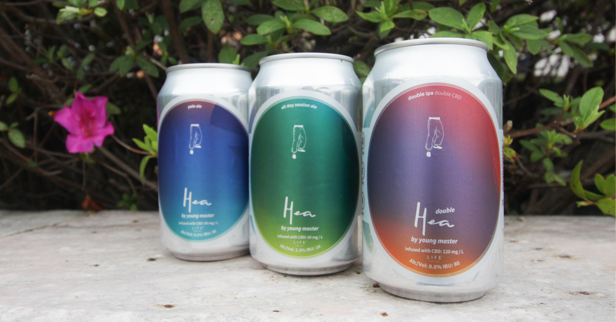 LIFE x Young Master | CBD-infused Beer